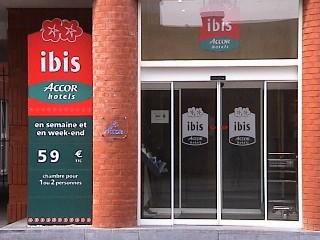 Vitrine : IBIS HOTEL