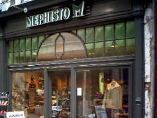 Vitrine : MEPHISTO