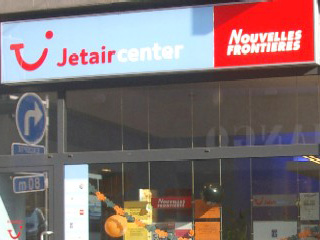 Vitrine : JETAIR CENTER-NOUVELLES FRONTIERES